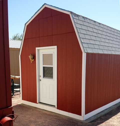 Gambrel barn shed plans with loft for 24x40 garage