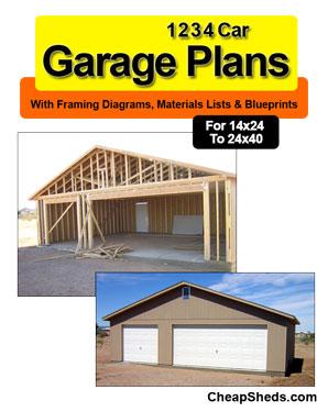 Garage Plans Amp Blueprints 19 95