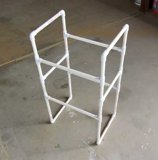 012 Pvc Storage Rack