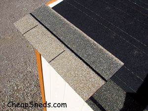 How To Build A Shed Shingle The Roof