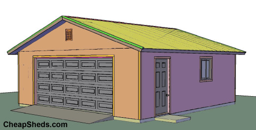 How To Build And Frame A 1 2 3 4 Car Garage Plans