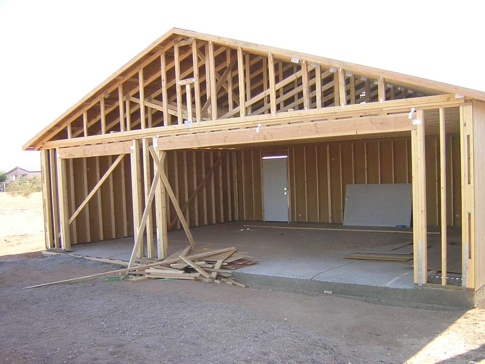 Build a 1 2 3 or 4 car garage for A frame house plans with garage