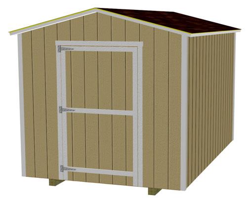 8x12 garden storage shed