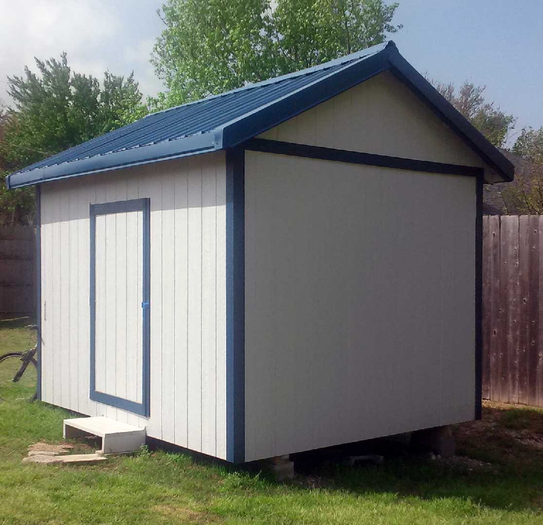 Deluxe Gable Roof Shed Photo Gallery