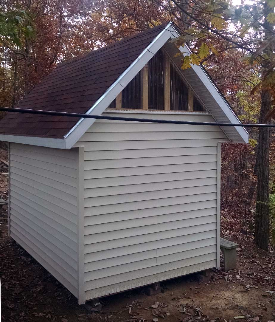 Picture Of A Gable Roof: Deluxe Gable Roof Shed Photo Gallery