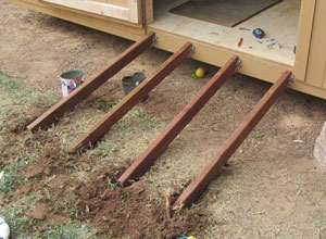 Storage Shed Ramps >> How To Build A Shed Ramp