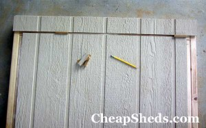 bicycle shed plans top trim