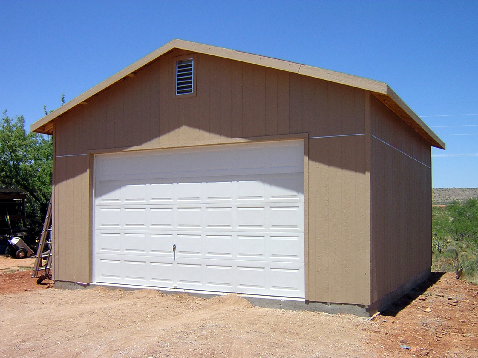 Home plans michigan for Tall garage doors
