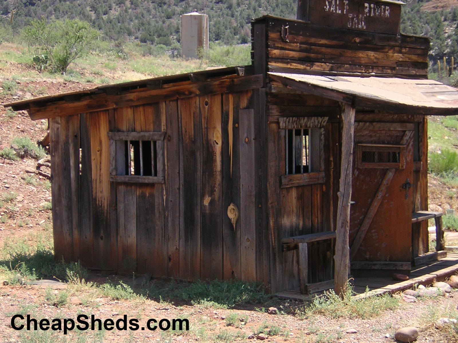 Old & Interesting Sheds, Etc…