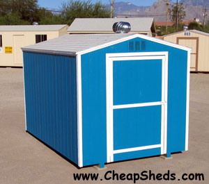 Build this 8x12 shed and save, FREE materials list download