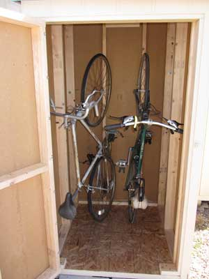 Vertical Bike Storage Shed3