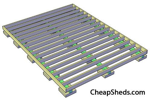 Figure 2.3, Floor frame complete